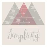 Simplicidad Láminas por Jelena Matic