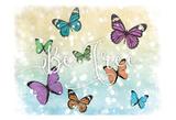 Butterfly Free Láminas por Marcus Prime