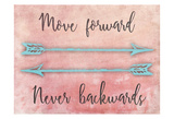 Moving Forward Poster di Marcus Prime