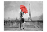 Red Romance Print by Unknown Unknown