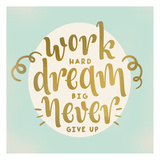 Work Dream Prints by Kimberly Allen