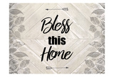 Bless This Home Quote Pôsteres por Kimberly Allen
