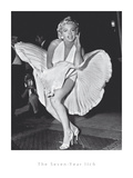 Marilyn's 7 Year Itch Pose Affischer av  The Chelsea Collection