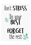 Dont Stress Stampe di Kimberly Allen
