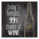 Todays Forecast Kunst av Kimberly Allen