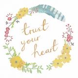 Wild Garden - Trust Poster di Clara Wells