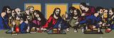 TVBOY - The Last Supper Affiches par  TVBOY