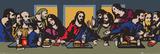 TVBOY - The Last Supper Poster von  TVBOY