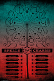 Harry Potter - Spells And Charms Plakater
