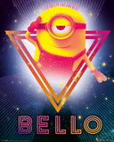 Despicable Me 3 - 80's Bello Plakater