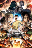 Attack On Titan - Season 2 Collage Key Art Affischer
