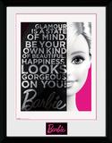 Barbie - Glamour Sammlerdruck