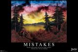 Bob Ross - Mistakes Plakater av Bob Ross