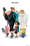 Despicable Me 3 - Gru's Crew Posters