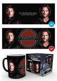 Supernatural - Sam & Dean Heat Change Mug Krus