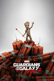Guardians Of The Galaxy Vol.2 - Groot Dynamite Kunstdruck