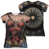 Juniors: Wonder Woman Movie - Wonder Uniform (Front/Back) Womens Sublimated