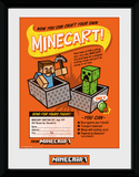 Minecraft - Craft Your Own Minecraft Lámina de coleccionista