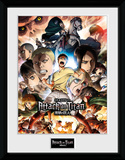 Attack On Titan - Season 2 Season 2 Collage key Art Samletrykk