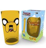 Adventure Time - Jake Face 500 ml Glass Neuheit