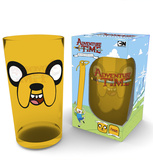 Adventure Time - Jake Face 500 ml Glass Novelty
