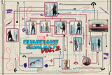 Guardians of the Galaxy: Vol. 2 Infographic - Star-Lord, Gamora, Drax, Groot, Rocket (Exclusive) Photo