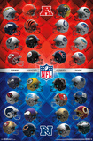 NFL - Helmets 17 Posters