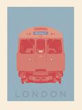London - Piccadilly Tube Giclée-Druck von Ben James