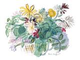 Bouquet de fleurs Reproduction procédé giclée par Raoul Dufy