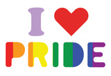 I Heart Pride Posters