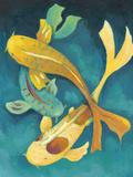 Ornamental Koi I Poster by Chariklia Zarris