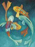 Ornamental Koi II Prints by Chariklia Zarris