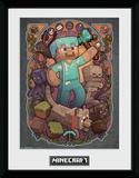 Minecraft - Steve Noveau Collector Print