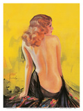 Nude Glamour Art - Front Cover College Humor Magazine May 1932 Prints by Rolf Armstrong
