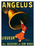 Angelus - Liqueur of the Salesians of Dom Bosco Religious Order Julisteet tekijänä Leonetto Cappiello