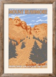 Mount Rushmore National Park, South Dakota Framed Photographic Print by  Lantern Press