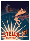 Petrole Stella Gasoline - Nude, Nymph, and Cherub Posters av Henri Gray