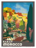 Rabat Morocco Plakater af E. Baudrillart
