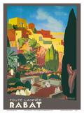 Rabat, Morocco - All Year Long Plakat af E. Baudrillart