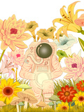 Space Meadow Posters