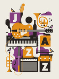 Jazz Essentials Kunstdrucke