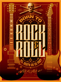 Born to Rock and Roll Prints