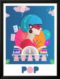 Glitzy Pop Posters