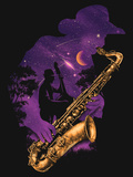 Midnight Jazz Print