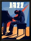 Homme au piano Photographie