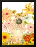 Space Meadow Poster
