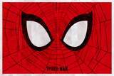 Spider-Man Eyes Print