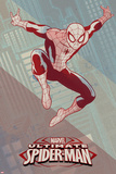 Ultimate Spider-Man Art Deco Prints
