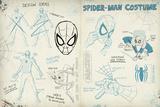 Spider-Man Sketchbook 1 Posters