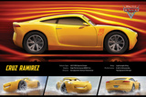 Cars 3 - (Cruz Rameriz Stats) Prints